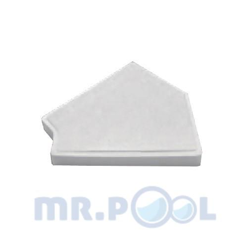 Угловой элемент Emaux FT2045 45° (200 мм)