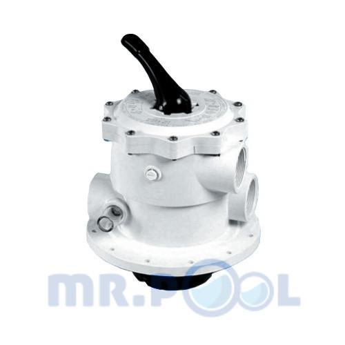 Клапан 6-ти позиционный Fiberpool ZVMT1 1 1/2″ верхний (запасной)