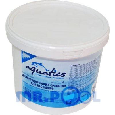 Быстрый стабилизированный хлор в таблетках (20 г), 4 кг