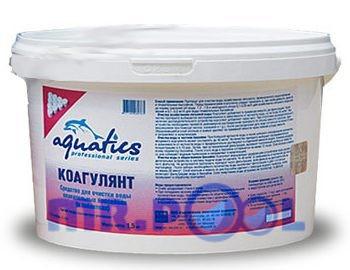 Коагулянт для бассейнов в таблетках (25г), ведерко 4 кг