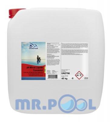 рН-Минус жидкий, 40 кг( на основе серной кислоты)