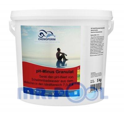 Cредство для понижения уровня pH воды в бассейне pH Mинус гранулированный