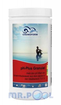 Cредство для повышения уровня PH воды в бассейне PH Плюс гранулированный, 1 кг