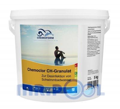 Хлор гранулированный для дезинфекции воды в бассейне и питьевой воды Кемохлор СН