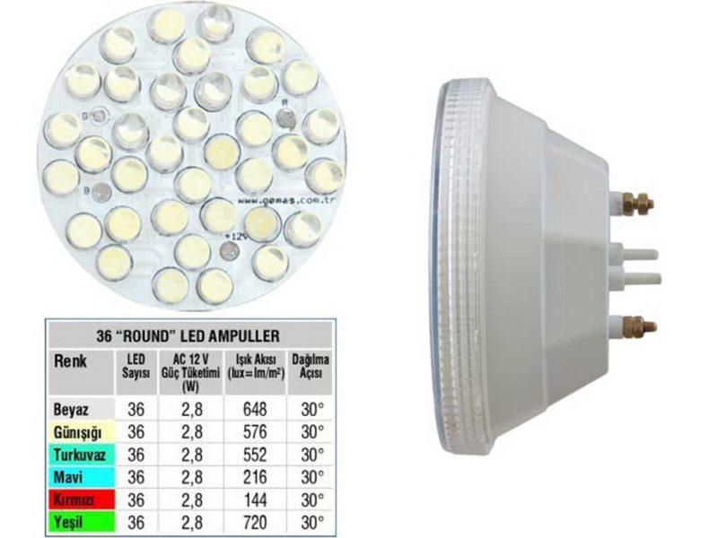 LED Single Color 36