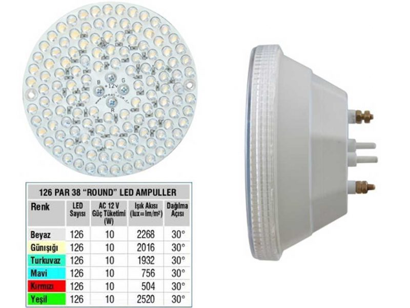 LED Single Color 126