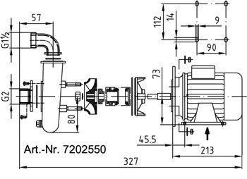 1 Nasos Fitstar Iz Pushechnoj Bronzi 05 Kvt 1 230 V 7202550