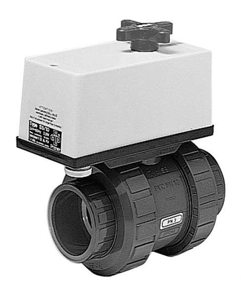 2-ходовой шаровый кран для работы с устройствами Combitrol INDEX SOLAR и BASIC SOLAR. D = 63 мм