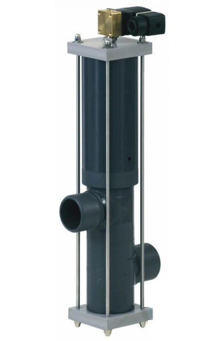 2 позиционный клапан Besgo DN 50/ D63 мм, с электромагн. кл-ном 230 В