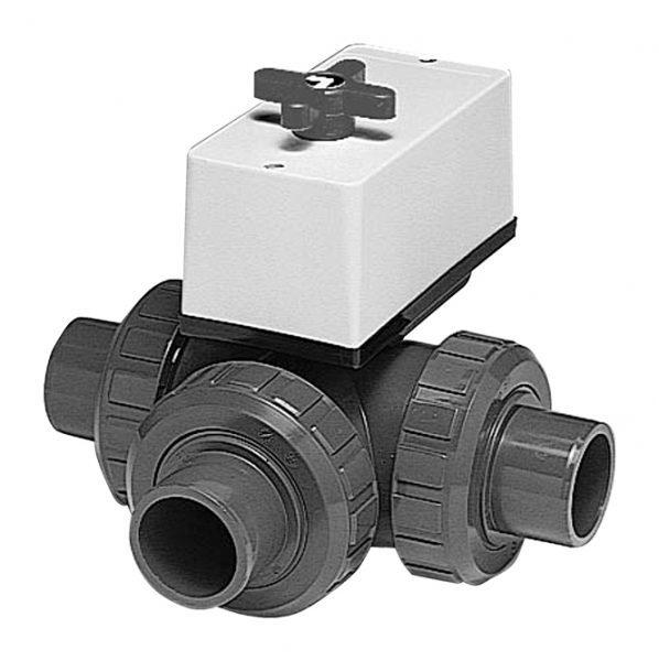 3-ходовой шаровый кран для устройств Combitrol BASIC SOLAR. D = 50 мм