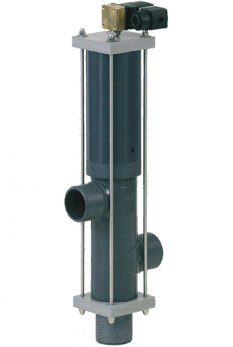 3 позиционный клапан Besgo DN 125/ D140 мм, с электромагн. кл-ном 230 В (гидравл. 4/2)
