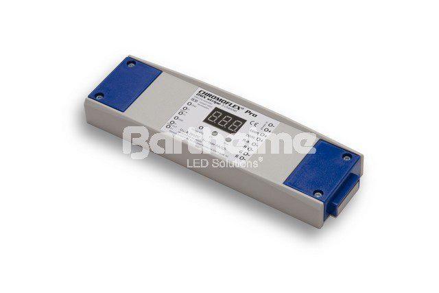4-канальный, DMX контроллер для светодиодных лент Chromoflex Pro,  RGB/RGBA, 4 х 4 А, 384 Вт, 24В