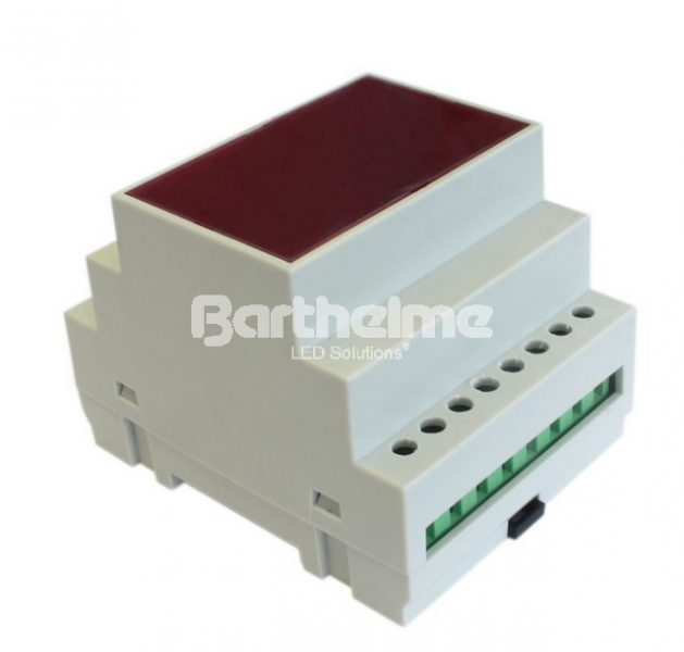 4-канальный контроллер для светодиодных лент Chromoflex Pro, RGB, DIN-рейка , 4 х 7.5 А, 720 Вт