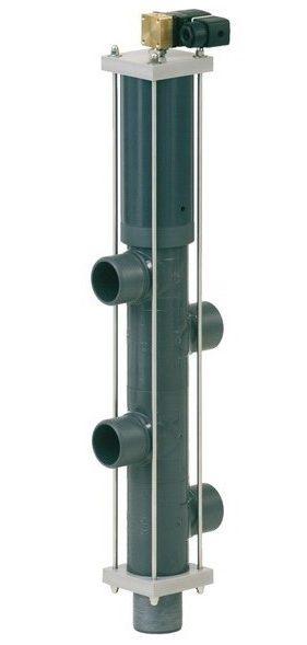 5-поз. клапан обратной промывки Besgo DN 125/ D140 мм, 450 мм, с электромагн. кл-ном 230 В (гидравл. 4/2)