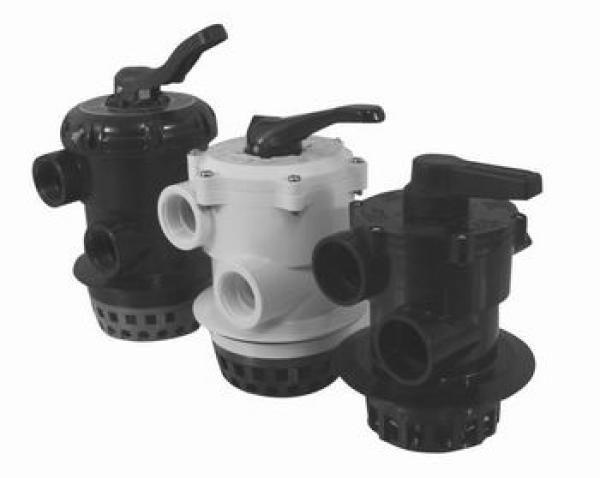 6ти-ходовой клапан, ручной, для фильтровальных емкостей, 1 1/2″