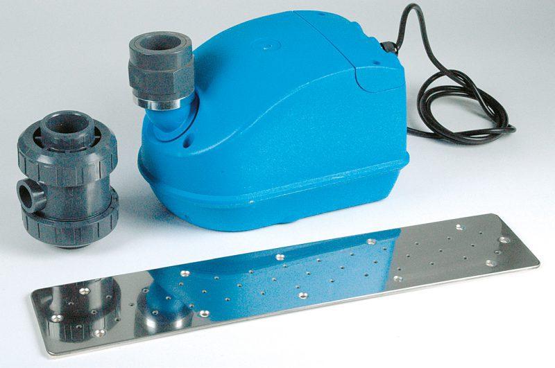 Аэромассаж FitStar, плато нерж. сталь 250 мм, компрессор 0,5 кВт, для закладной с 1 выходом