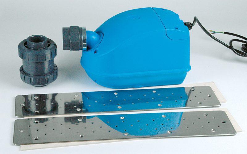Аэромассаж FitStar, плато нерж. сталь 250 мм, компрессор 0,5 кВт, для закладной с 2 выходом