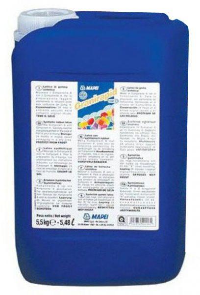 Быстросхватывающийся клей для плитки GRANIRAPID компонент B, 5,5 кг