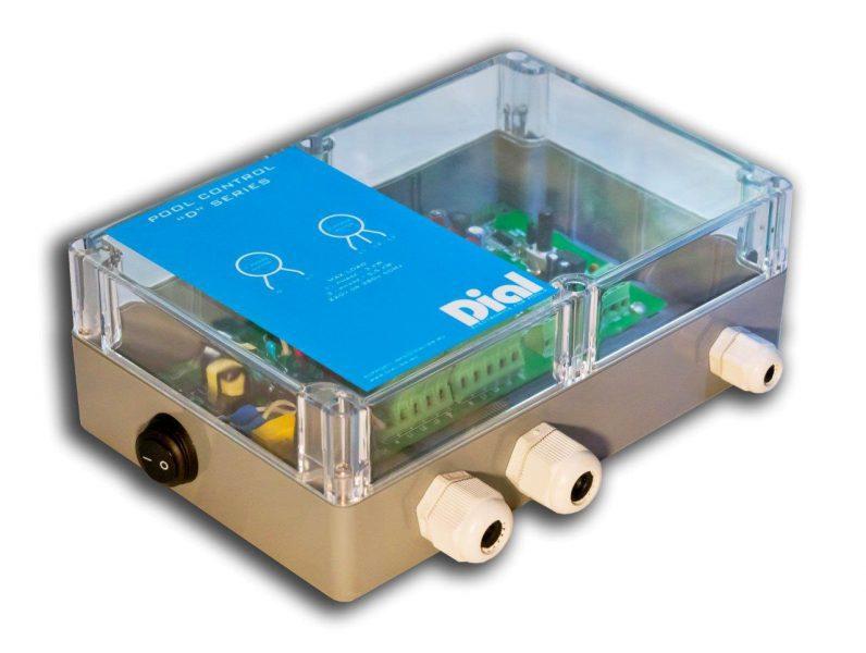 Блок управления аттракционом бассейна Series D для пьезокнопки