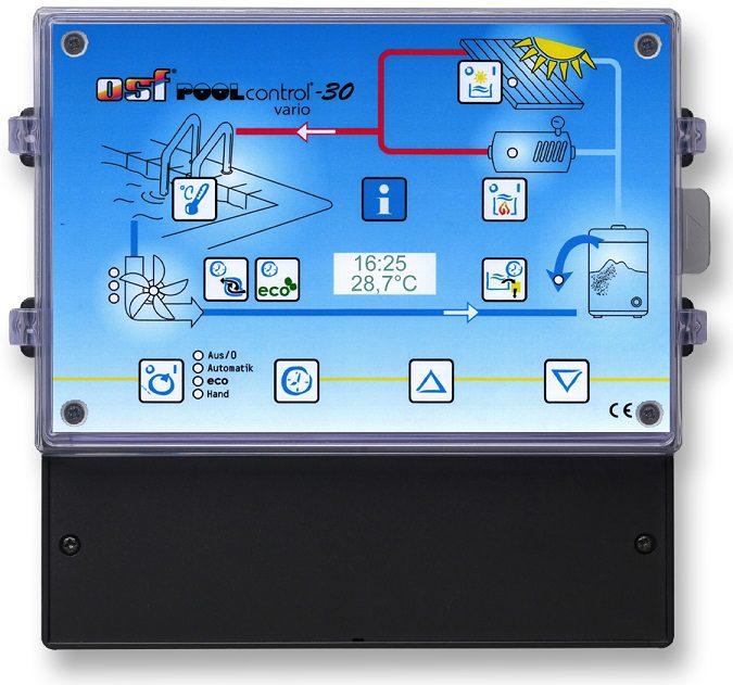 Блок управления фильтрацией и нагревом PС-30-Vario
