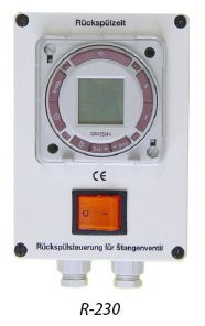 Блок управления обратной промывкой гидроклапанами R-230-D (давление)
