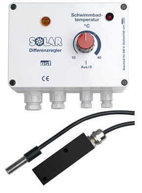 Блок управления солнечным водонагревом Solar-1