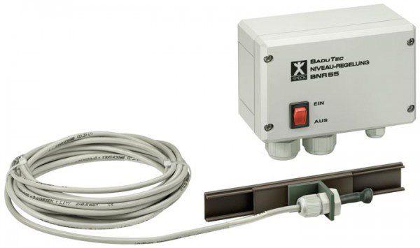 Блок управления уровнем воды BADU BNR 55 с датчиком и эл. маг. клапаном, 230 В