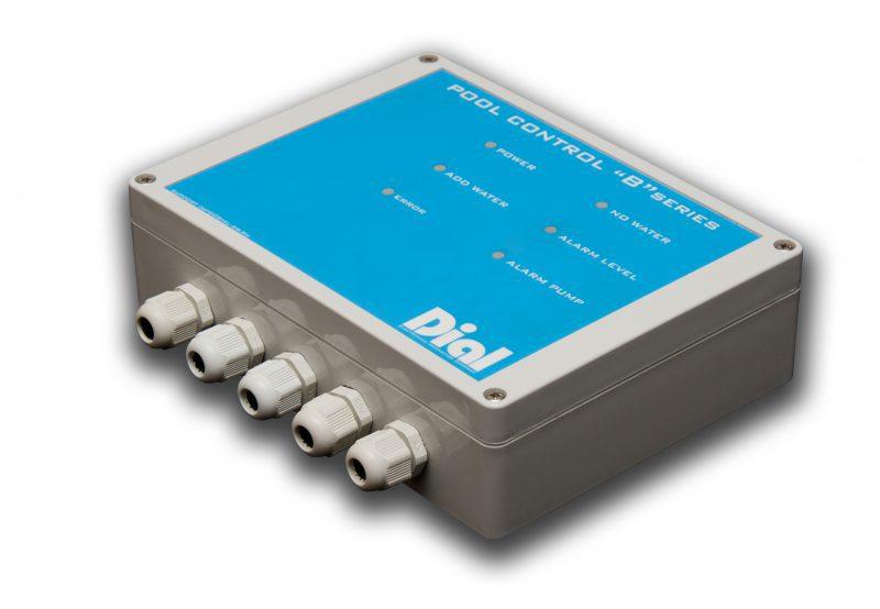 Блок управления уровнем воды буферной ёмкости переливного бассейна Dial Pool Control Series B (погружные датчики 5шт)