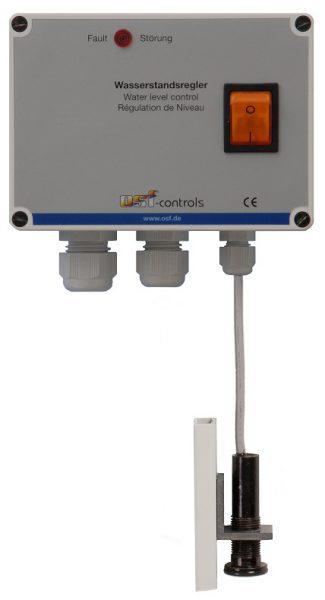 """Блок управления уровнем воды Skimmer-Regler, с датчиком KF-3, магнитный клапан G 1/2"""", 230 В, 2.5 м"""