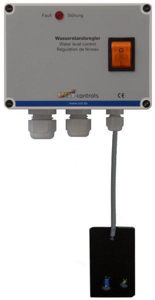 """Блок управления уровнем воды Skimmer-Regler, с датчиком SK-1, магнитный клапан G 1/2"""", 230 В, 3 м"""