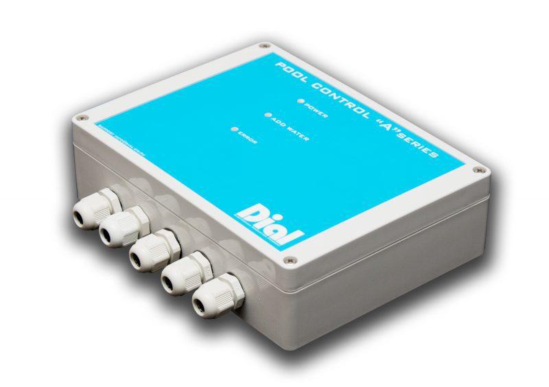 Блок управления уровнем воды скиммерного бассейна Dial Pool Control Series A (крепление датчика на профиль)