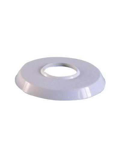 Декоративное кольцо для лестницы, ABS пластик белый