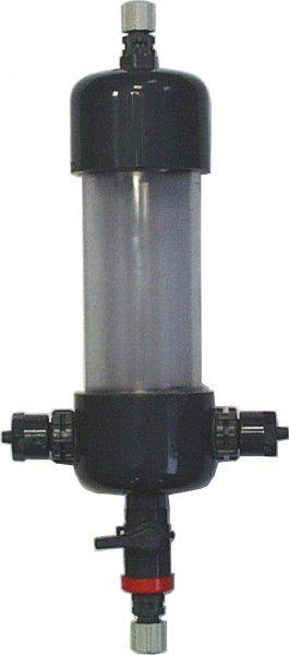 Демпфер на входе/выходе; 2хDN 8, 8.5 Бар, из прозрачного PVC