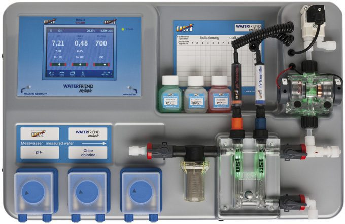 Дозирующая система WATERFRIEND Exclusiv Chlor MRD-3 (без насосов)