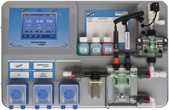 Дозирующая система WATERFRIEND Exclusiv Chlor MRD-3 (с доп насосом для PH+)