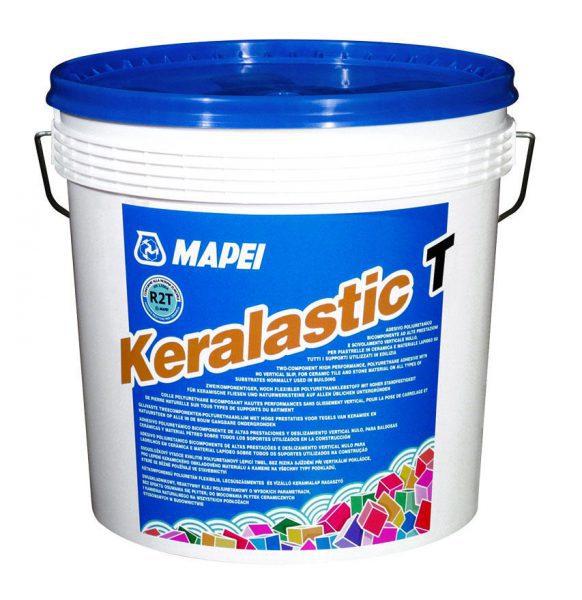 Двухкомпонетный полиуретановый клей для плитки KERALASTIC Т, 10 кг