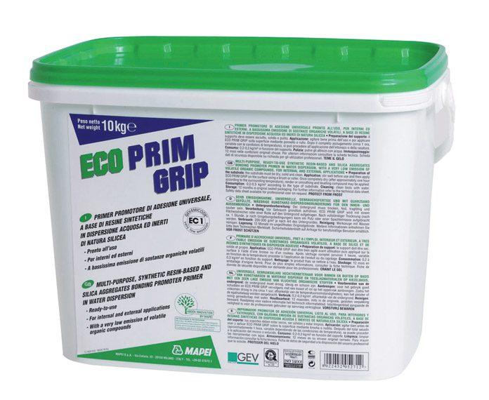 ECO PRIM Grip, акриловый праймер для впитывающих оснований, 10 кг