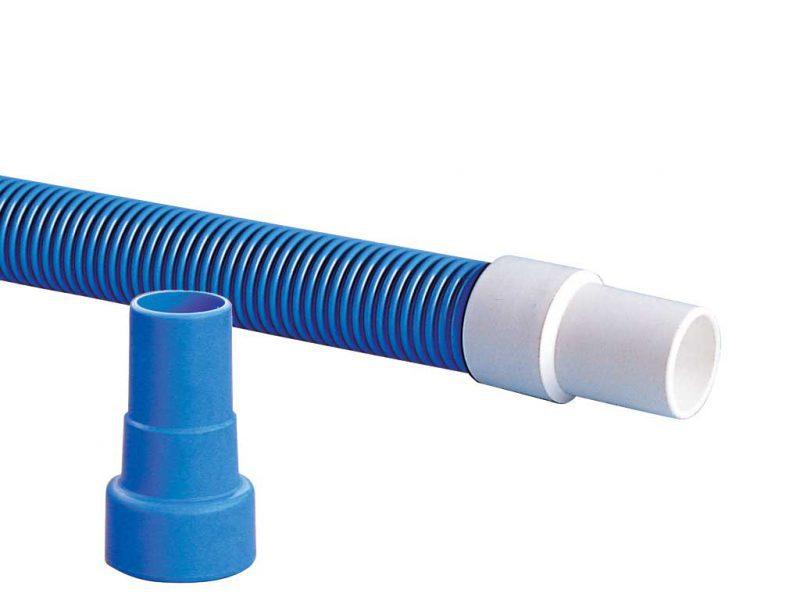 Эластичная муфта для гофрированного шланга D=38 и 50 мм, 2″, ПВХ