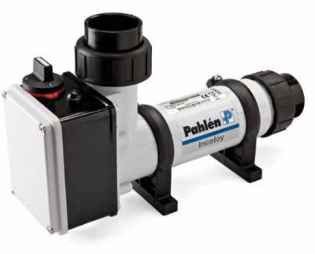 Электронагреватель пласт.корпус ( 9 кВт) с датчиком потока Pahlen