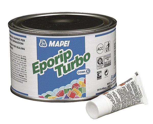 EPORIP TURBO, (компоненты A+B), эпоксидный клей для склеивания бетона, 0,508 кг