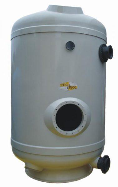 Фильтр Balearic 500/c, D=500 мм, высота засыпки песка- 1000 мм, (дюзовое дно)