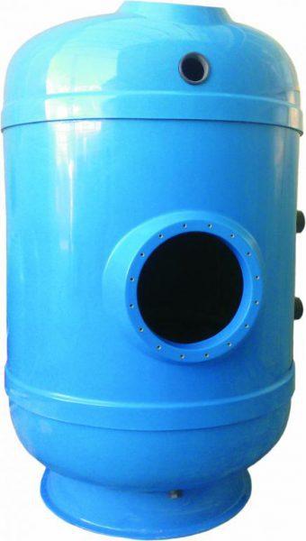 Фильтр CORAL 120/c D=1200 мм, высота засыпки 1200 мм, (дюзовое дно)