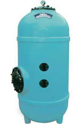 Фильтр FILTRONE LHB 615 мм, H=1530 мм, PE, с боковым подключением 11/2″, загруз. отверстие 400 мм, (без клапана), 15 м3/ч