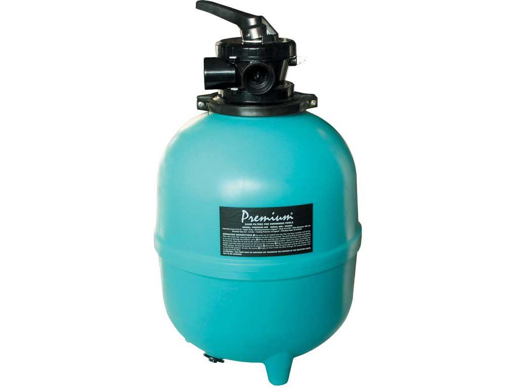 Фильтр PREMIUM 400 мм, PE, с верхним 6-ти поз. клапаном 11/2″,6,3 м3/ч