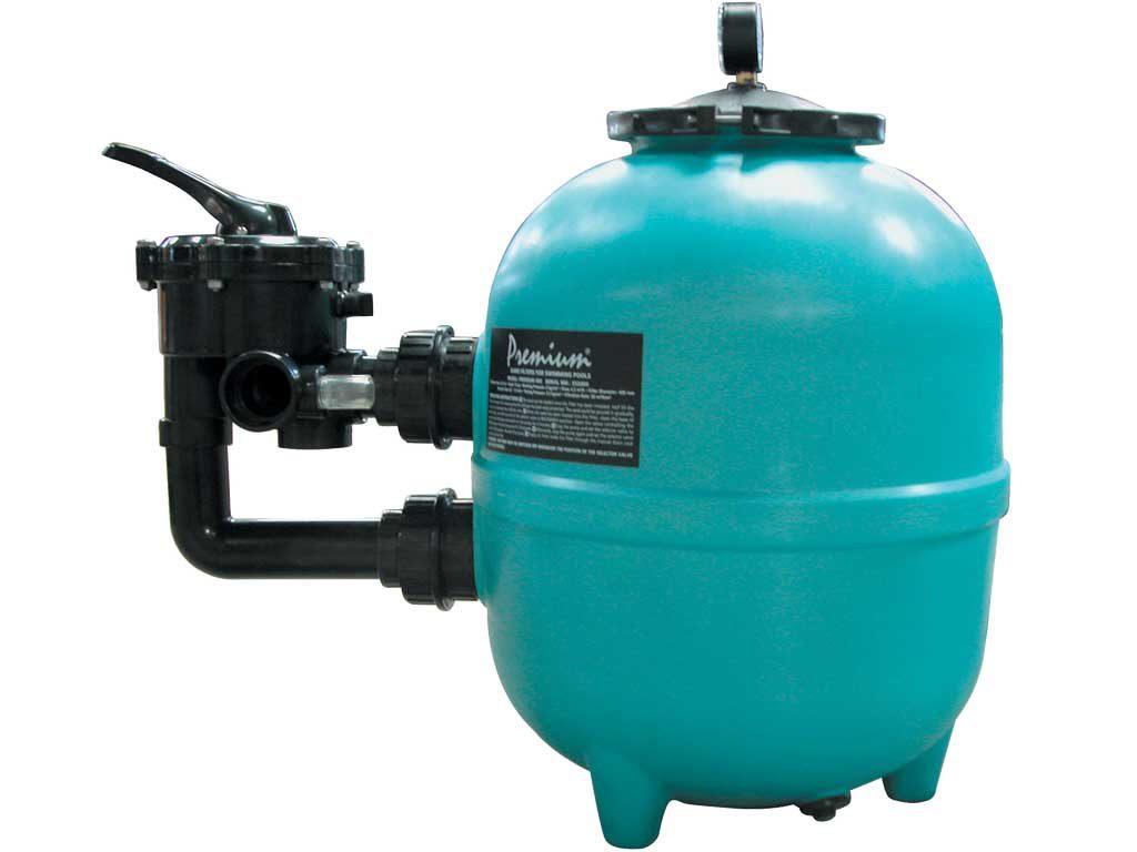 Фильтр PREMIUM 615 мм, PE, с боковым 6-ти поз. клапаном 11/2″,15 м3/ч