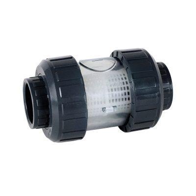 Фильтр сетчатый ПВХ D75 PN16, для сита из нерж. стали