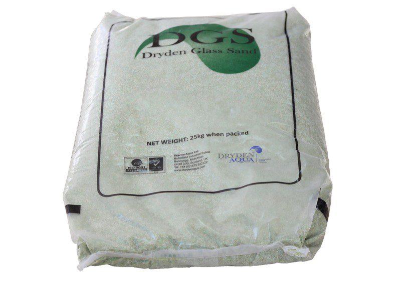 Фильтрующий материал DGS зерно 2 (0,8 — 2,0 мм), 25 кг