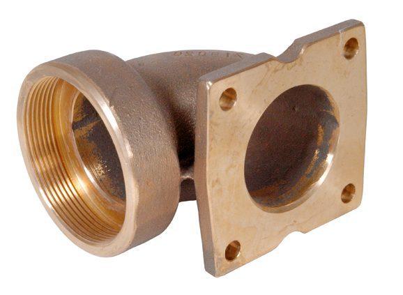 Фланцевое соединение для насоса пр-ка «Taifun — Compact», вн.р. 2 ½», бронза