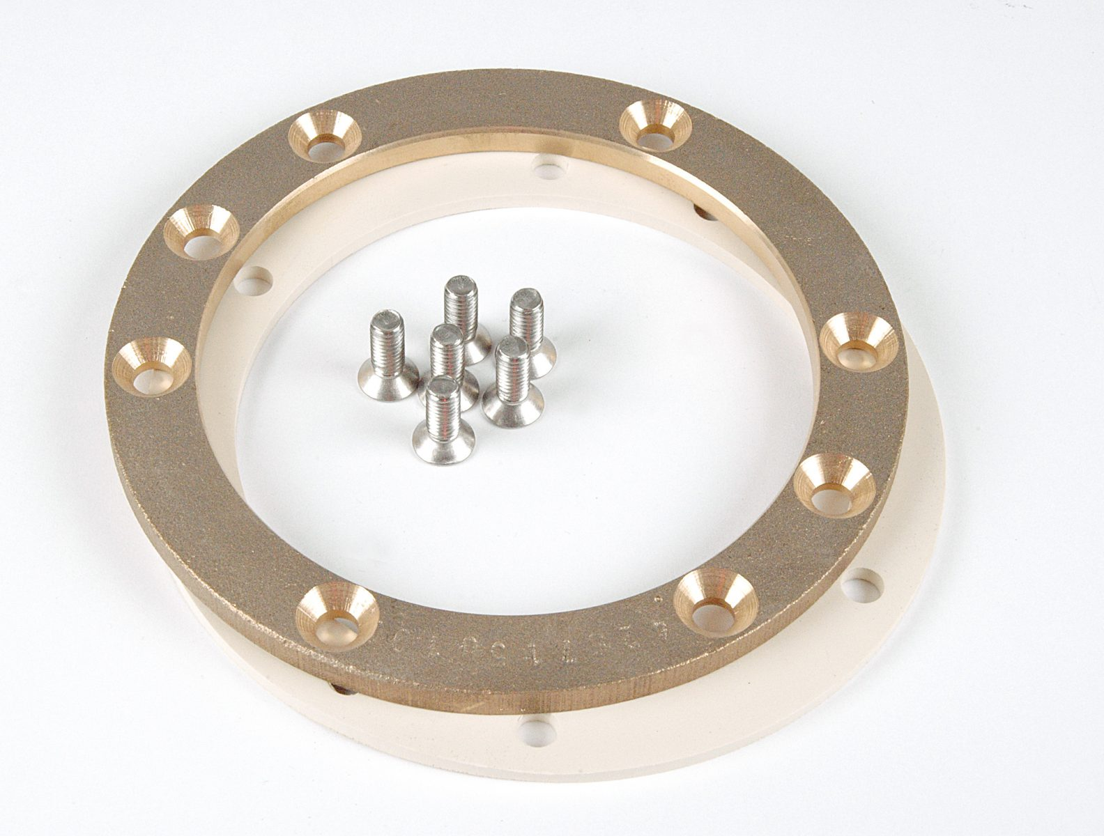 Фланец для закладной ниши из бронзы к прожекторам VitaLight O 150 мм
