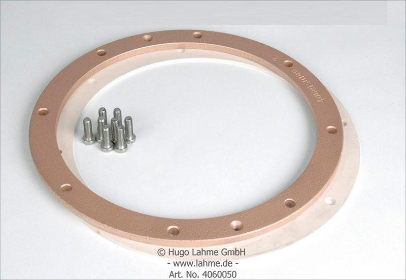 Фланец для закладной ниши из нерж. стали к прожекторам VitaLight O 270 мм